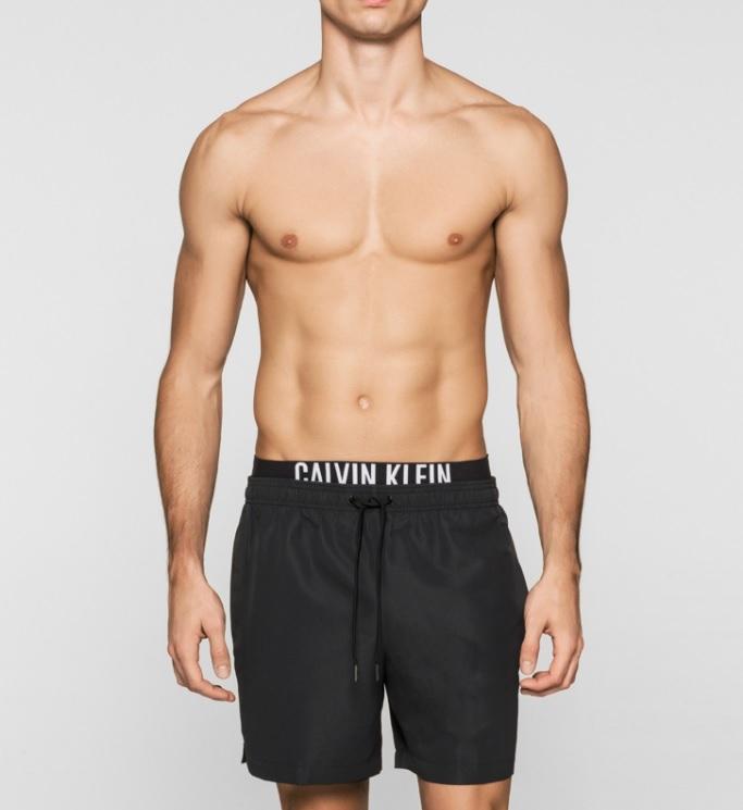 Novinky 2021 - Pánské plavky Calvin Klein KM0KM00059.001