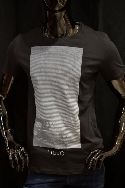 Muži - Pánské tričko Liu-Jo M117P204