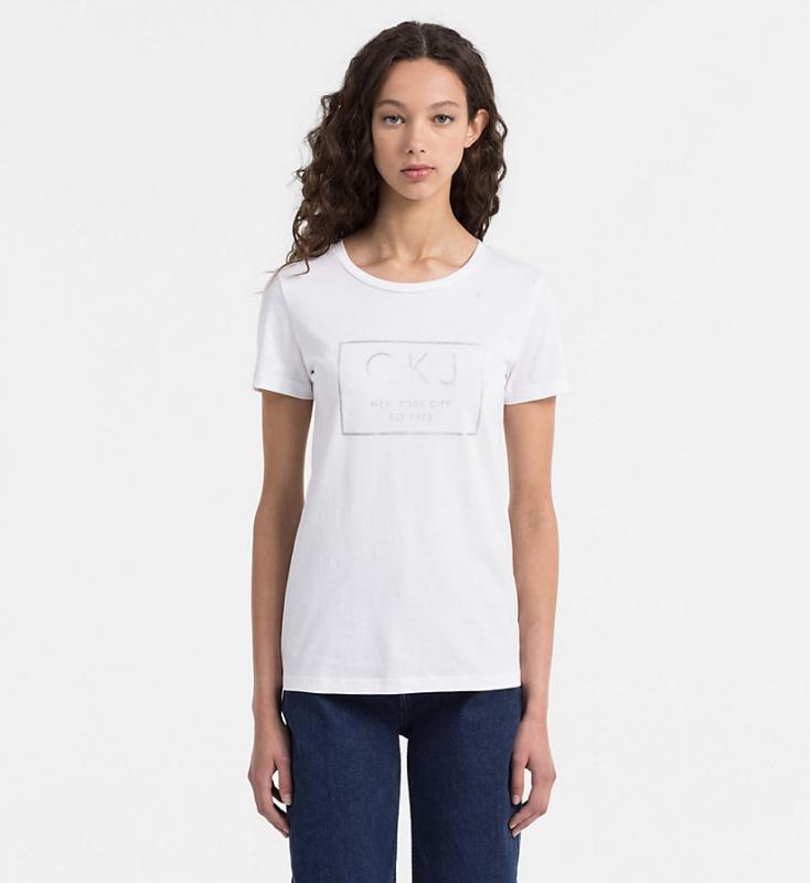 Novinky 2021 - Dámské triko Calvin Klein J20J206172.112