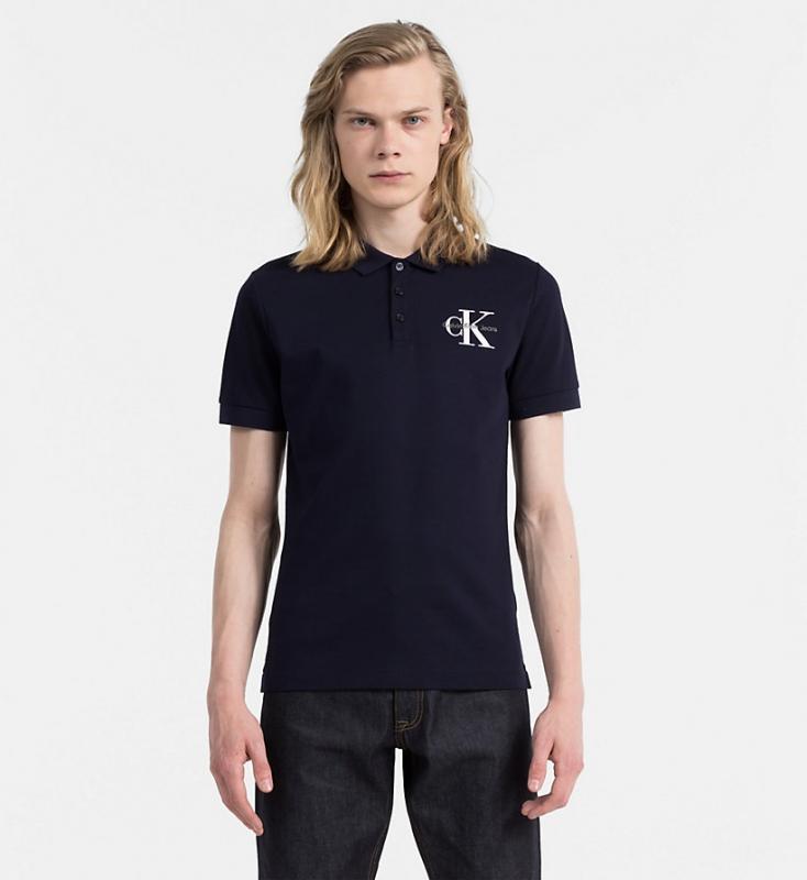 Výprodej až 50% - Pánské polo Calvin Klein J30J305460