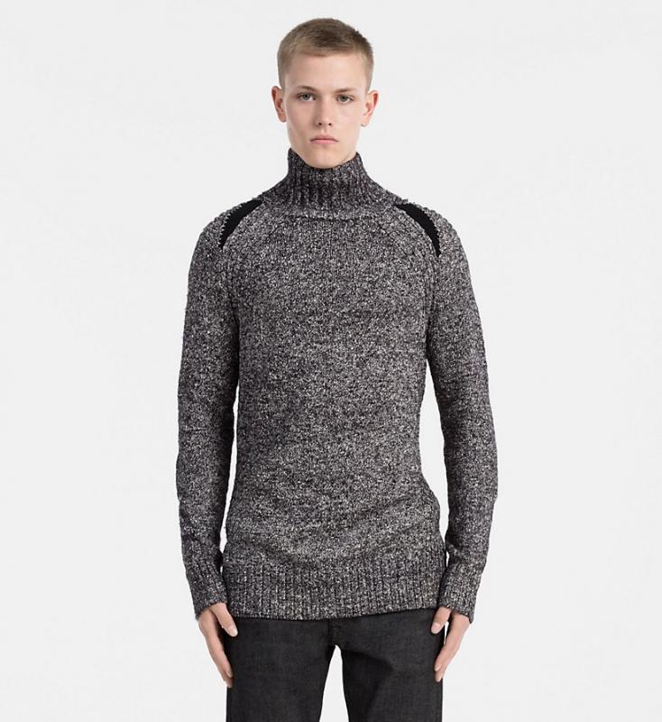 Muži - Pánský svetr Calvin Klein J30J305477