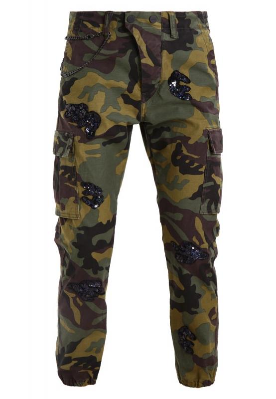 Ženy - Dámské kalhoty Replay W8769E.00071407