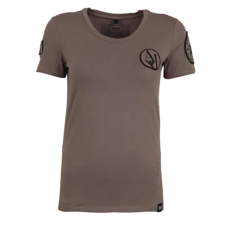Ženy - Dámské triko Armani Jeans 6Y5T88.5JAJZ