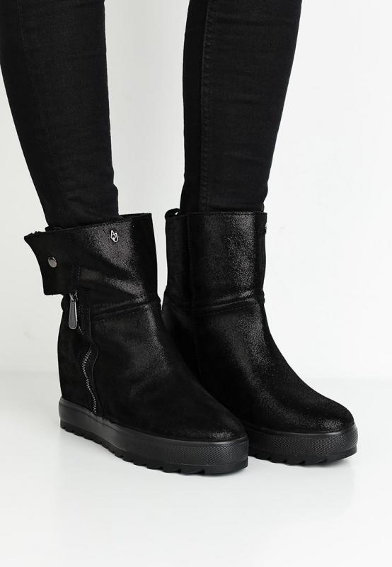 Výprodej až 50% - Dámské boty Armani Jeans 925260.7A657