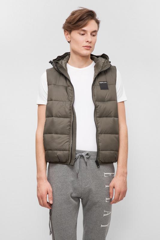 Výprodej až 50% - Pánská vesta Replay M8861.00080874