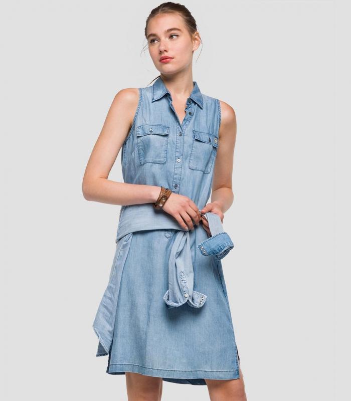 Ženy - Dámské šaty Replay W9470.00054C111