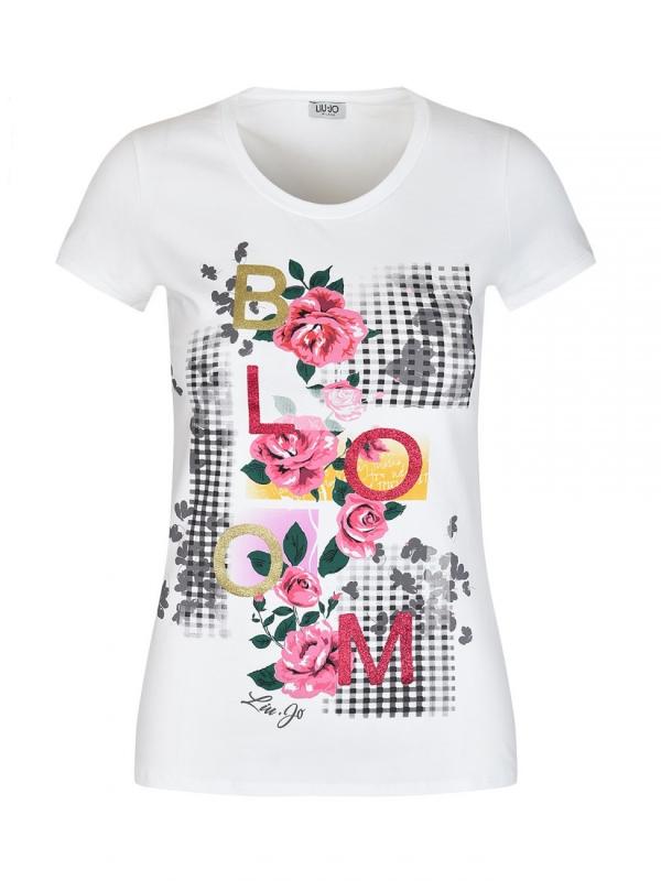 Ženy - Dámské triko Liu-Jo F18204.J9122