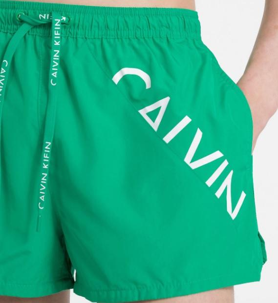 Muži - Pánské plavky Calvin Klein KM0KM00161