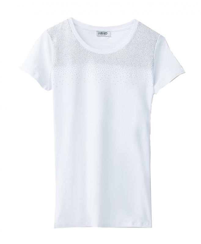 Novinky 2021 - Dámské triko Liu-Jo W68015.J5003