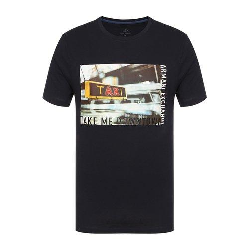 Muži - Pánské triko Armani Exchange 6ZZTDU.ZJH4Z