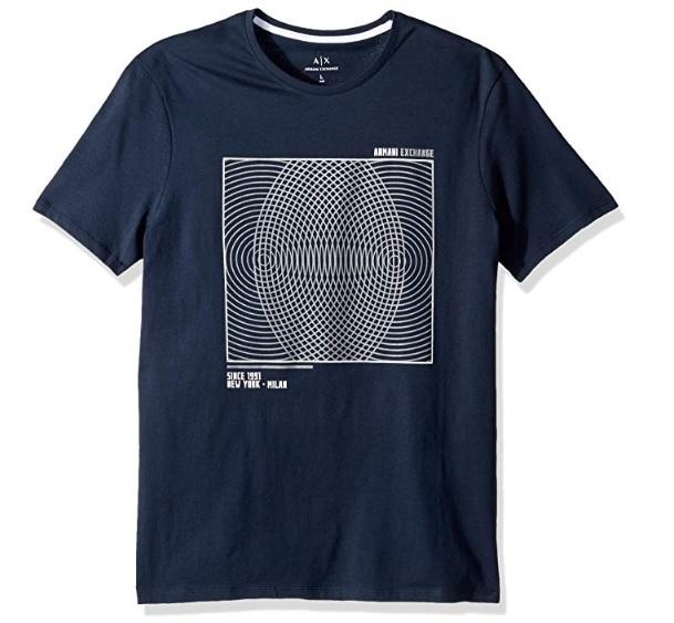 Muži - Pánské triko Armani Exchange 6ZZTBK.ZJV5Z