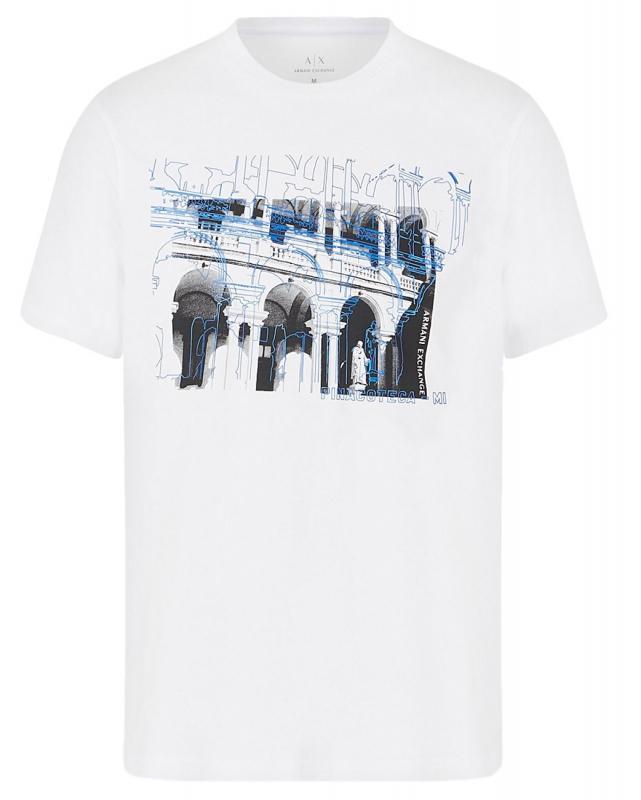 Muži - Pánské triko Armani Exchange 3HZTGL.ZJH4Z