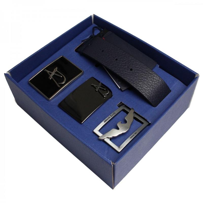 Muži - Pánský pásek Armani Jeans B6180