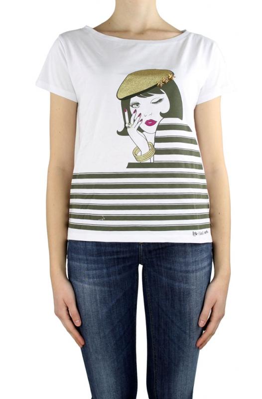 Ženy - Dámské triko Liu-Jo F16053J7756