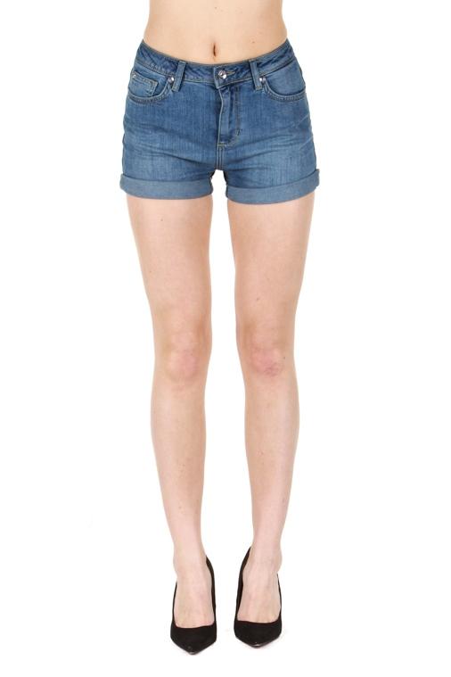 Ženy - Dámské džínové kraťasy Liu-Jo F15276