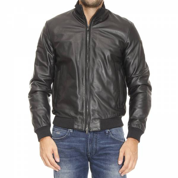 Muži - Pánská kožená bunda Armani Jeans 6X6B02