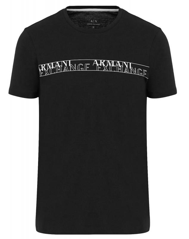 Novinky 2020 - Pánské triko Armani Exchange 6HZTFC.ZJBVZ