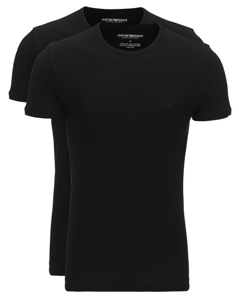 Muži - Pánské tričko dvojbalení Armani Jeans 111647