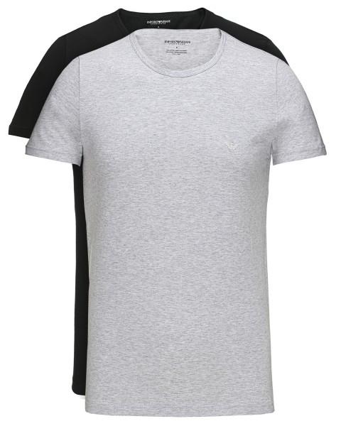 Pro pány - Pánské tričko dvojbalení Armani Jeans 111647