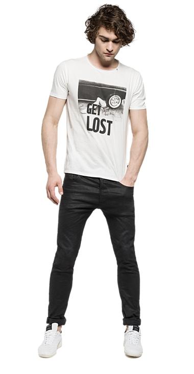 Muži - Pánské triko Replay M3103.0002660.001