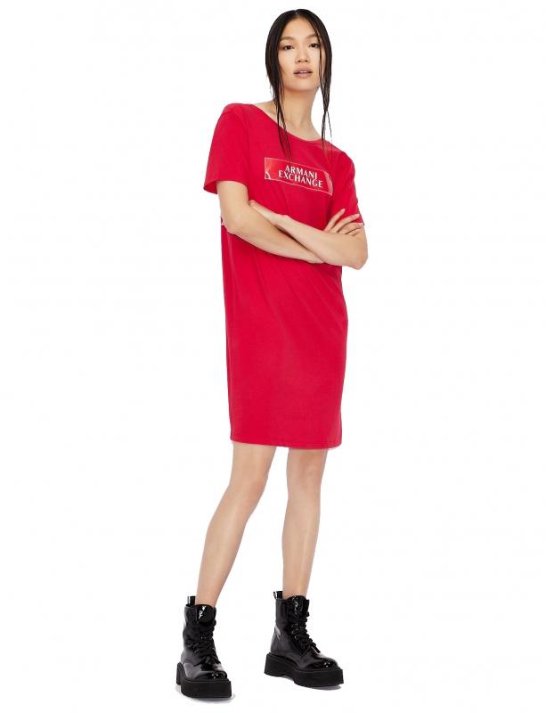 Novinky 2021 - Dámské šaty Armani Exchange 6HYA80.YJG3Z