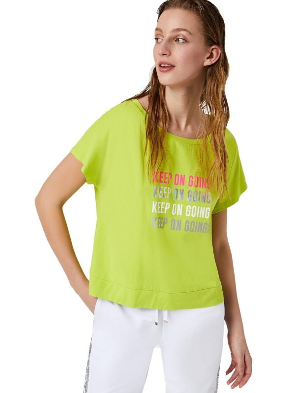 Ženy - Dámské triko Liu-Jo TA0012.J5003