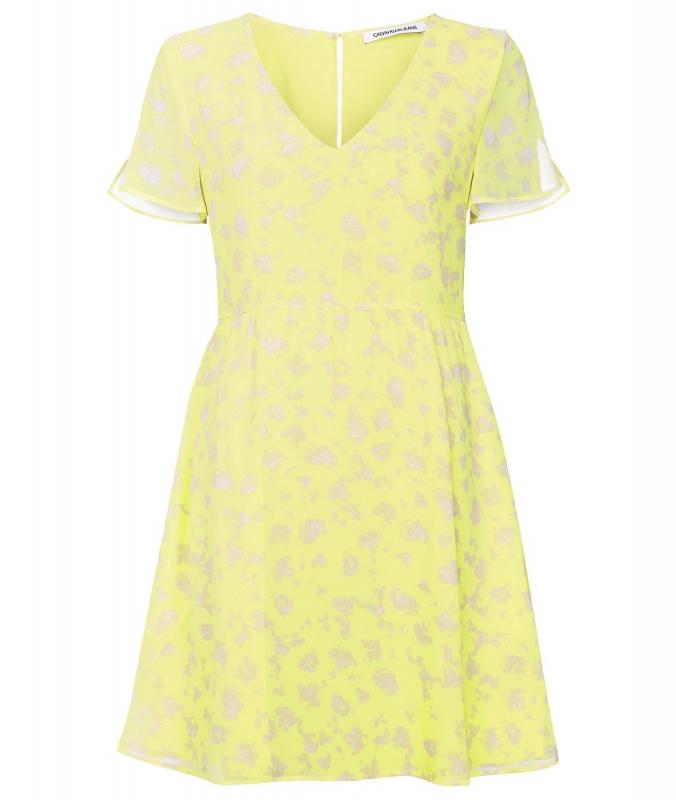 Výprodej až 50% - Dámské šaty Calvin Klein J20J213638