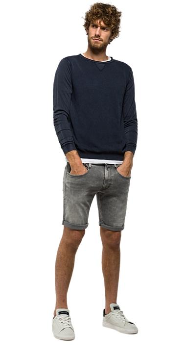 Muži - Pánský svetr Replay UK1507.000G21280G.500