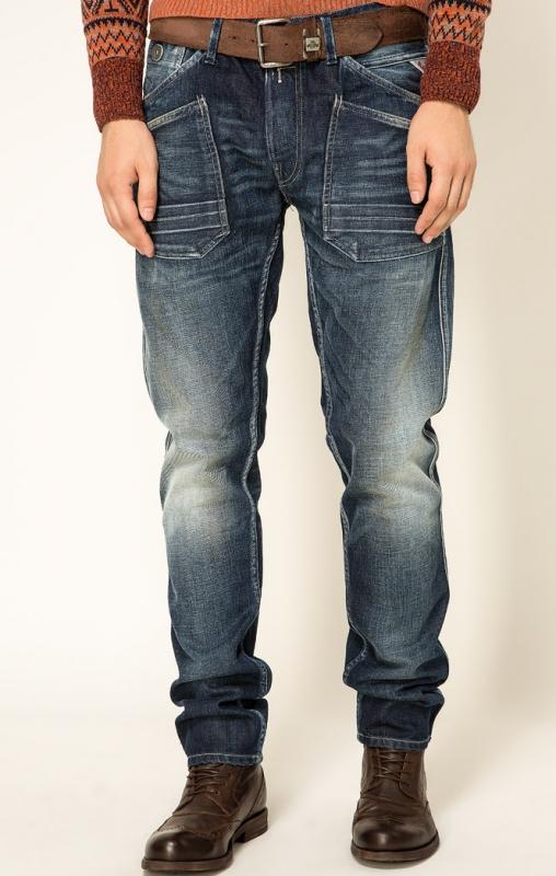 Akční slevy - Pánské džíny Replay MA959 000118 230009