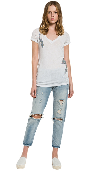 Ženy - Dámské triko Replay W3809A.00022060G.011