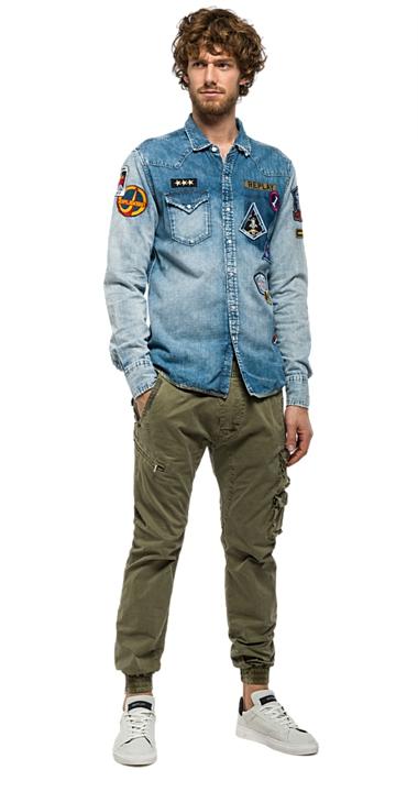 Pánská košile Replay M4860V.00040491C.010  8c9347d4f8