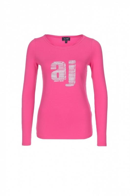 8b3fac04c6 Dámské triko ARMANI JEANS C5H05 Růžová