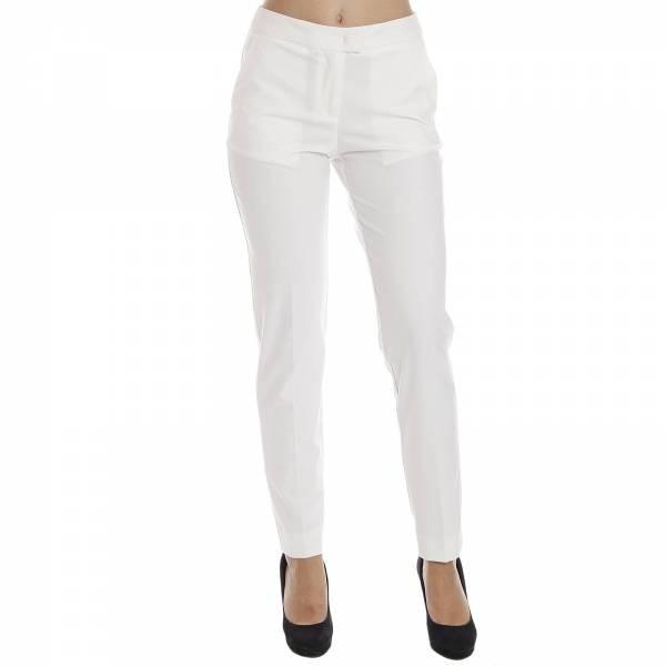 Dámské kalhoty ARMANI JEANS C5P10 Bílá  cc6298f3bb