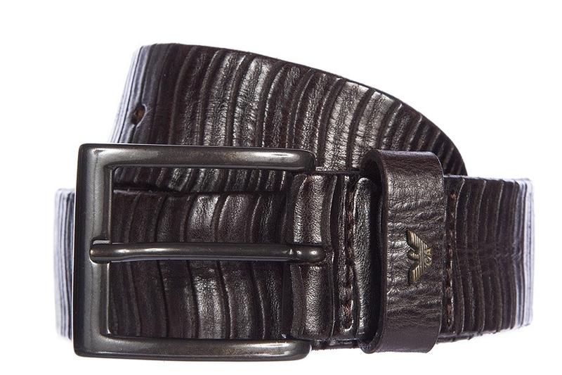 Pro pány - Pánský pásek Armani Jeans C6145