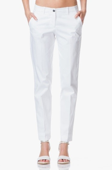 Dámské kalhoty ARMANI JEANS A5P07 Bílá  98f2b60999