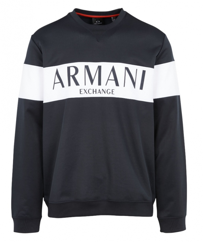 Novinky 2020 - Pánská mikina Armani Exchange 3HZMAE.ZJ3FZ