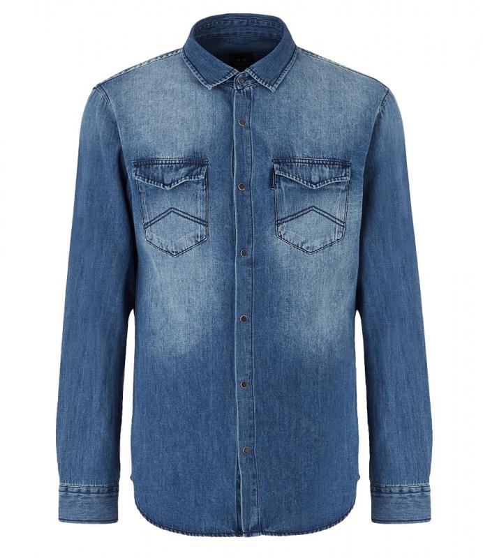 Výprodej až 50% - Pánská košile Armani Exchange 6GZC20.Z1K1Z