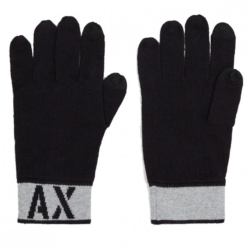 Výprodej až 50% - Pánské rukavice Armani Exchange 6GZ42C.ZMS1Z