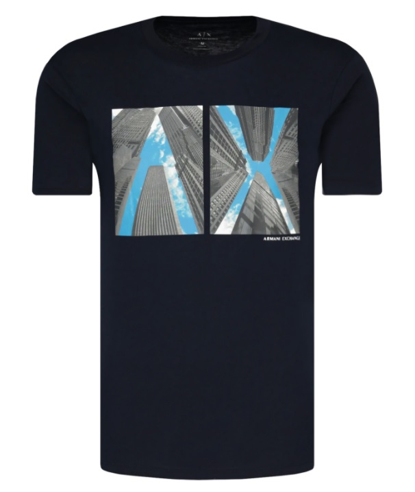 Muži - Pánské triko Armani Exchange 6HZTLB.ZJH4Z