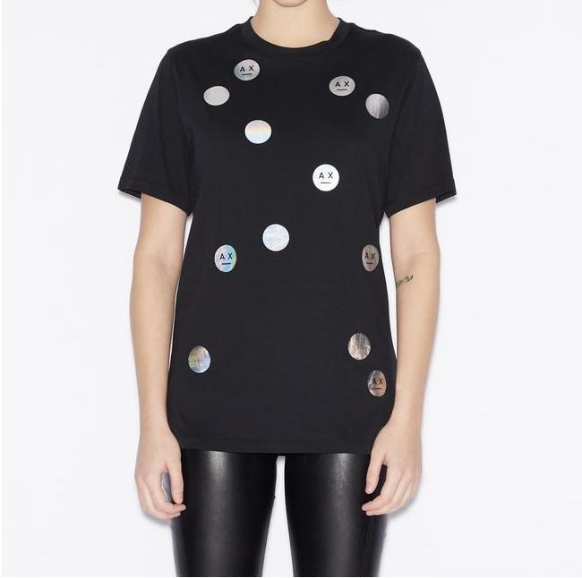 Výprodej až 50% - Dámské tričko Armani Exchange 3GYTCK.YJW3Z