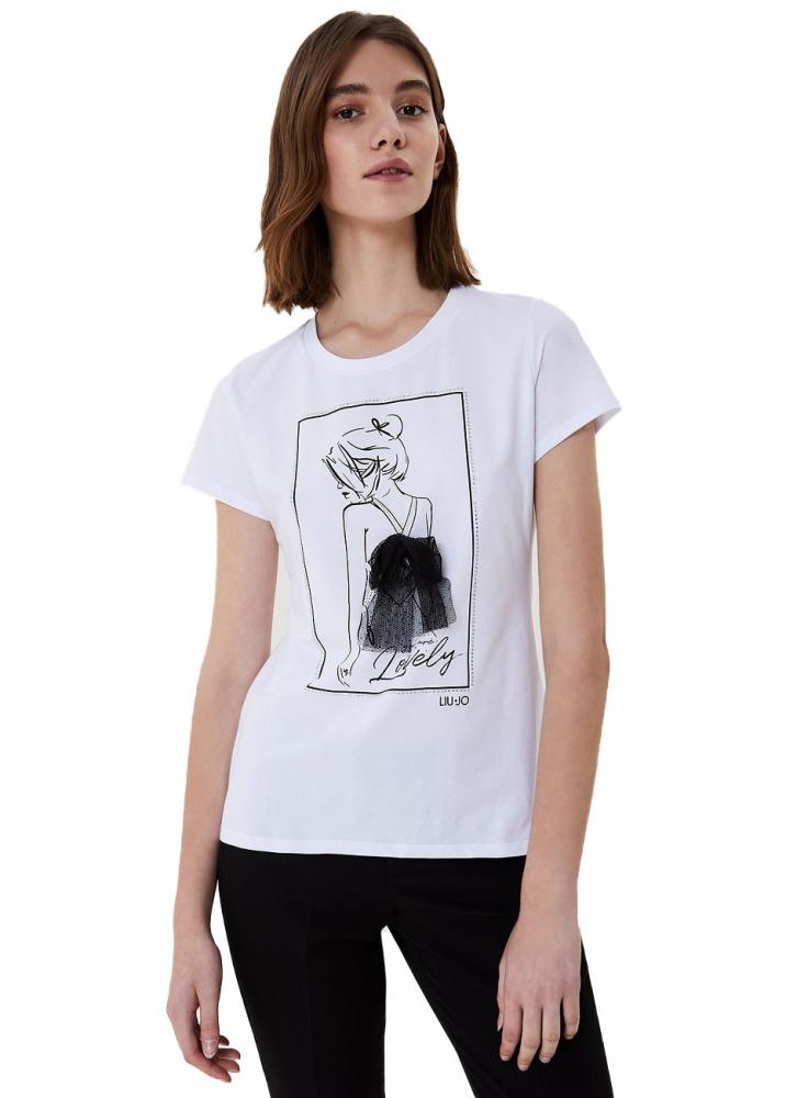 Ženy - Dámské triko Liu-Jo WA1266.J5003