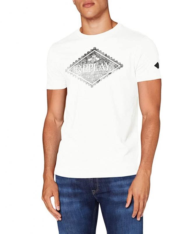 Muži - Pánské triko Replay M3140.00023046P