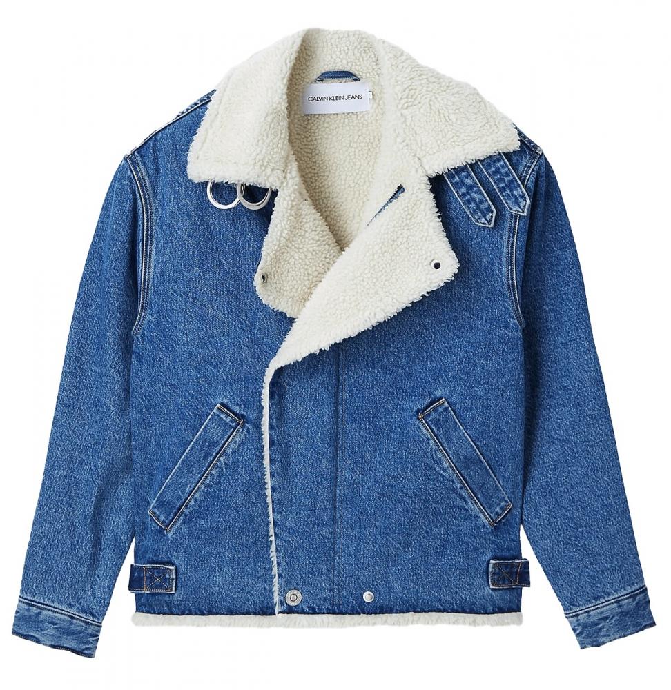 Ženy - Dámská džínová bunda Calvin Klein J20J214566