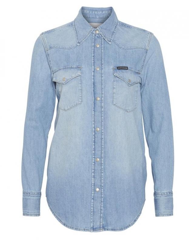 Ženy - Dámská košile Calvin Klein J20J212072