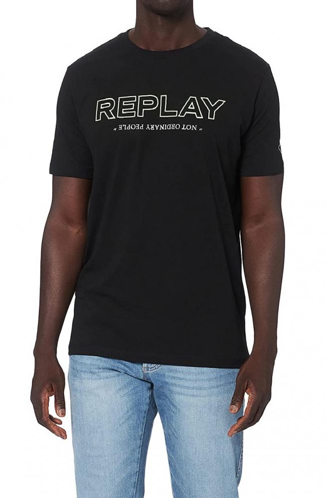 Muži - Pánské triko Replay M3427.0002660
