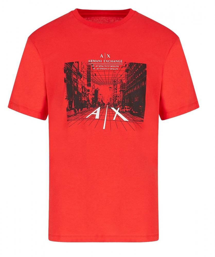 Muži - Pánské triko Armani Exchange 3KZTFH.ZJH4Z