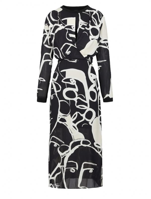 Výprodej až 50% - Dámské šaty Armani Exchange 6GYA05.YND4Z