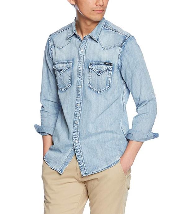 Muži - Pánská košile Replay M4860Z.000.26C95R