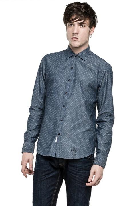 Módní značky - Pánská košile Replay M4863A.00051648.010