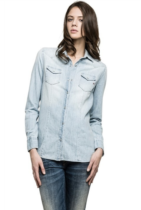 Módní značky - Dámská košile Replay W2686N.000362A471.010